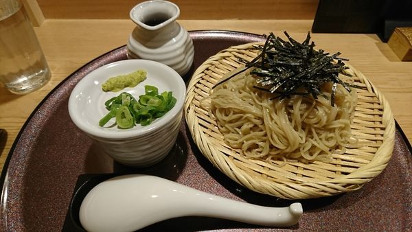 「小麦そば(800円)」@赤羽 山雄亭の写真