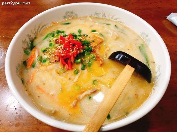 「スタミナ焼肉ラーメン (880円)」@ぽんぽこ亭の写真