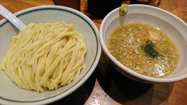 「塩つけ麺(800円)」@めいげんその写真