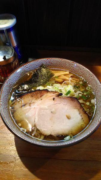 「あご煮干しそば」@麺や 虎ノ道の写真