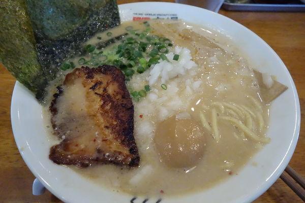 「特製魚鶏豚骨味噌」@極上拉麺専門店 穴場の写真