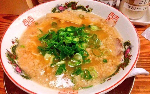 「中華そば並」@ますたに 京都駅ビル拉麺小路店の写真