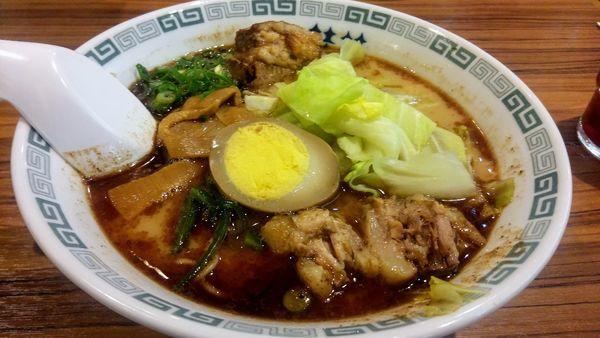「太肉麺」@桂花 本店の写真