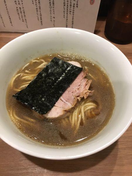 「煮干ラーメン」@らーめん 小烏丸の写真