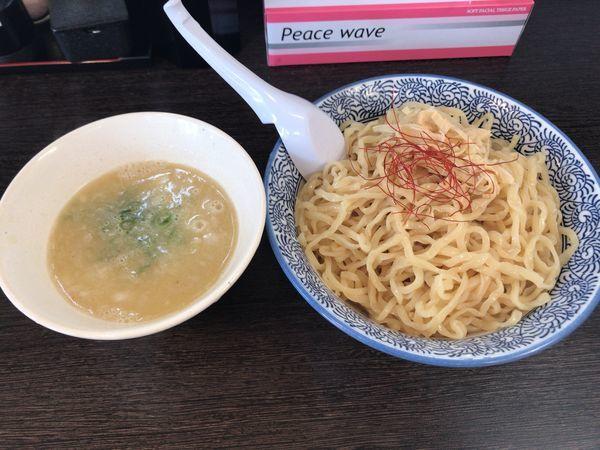 「濃厚鶏白湯つけ麺 塩 大盛 880円」@麺匠なべすけの写真