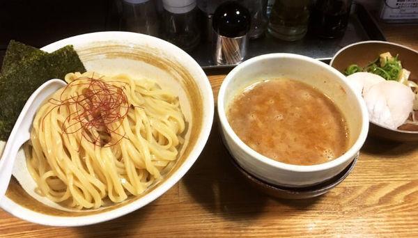 「特製鶏辛味噌つけ麺」@麺匠ようすけ 鶏煮亭の写真