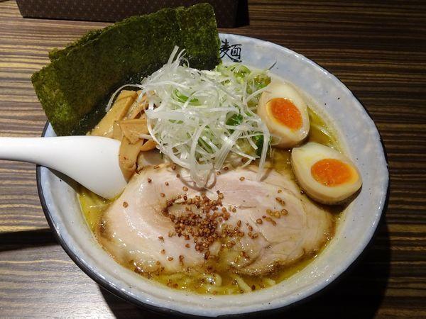 「得塩らぁめん(1,050円)」@麺屋 利休の写真