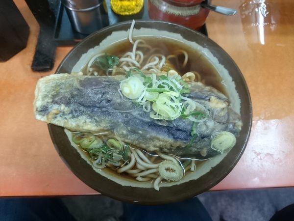 「茄子天そば 380円」@六文そば 須田町店の写真