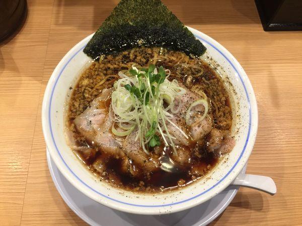 「醤油中華そば」@麺や マルショウ 新なにわ大食堂店の写真