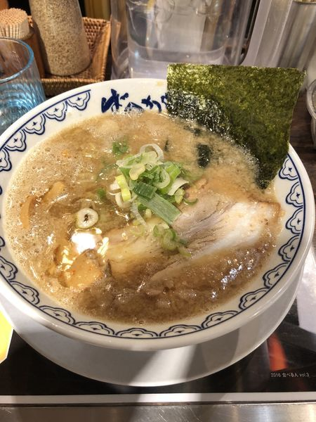 「ばんからラーメン」@東京豚骨拉麺 ばんから 池袋本店の写真