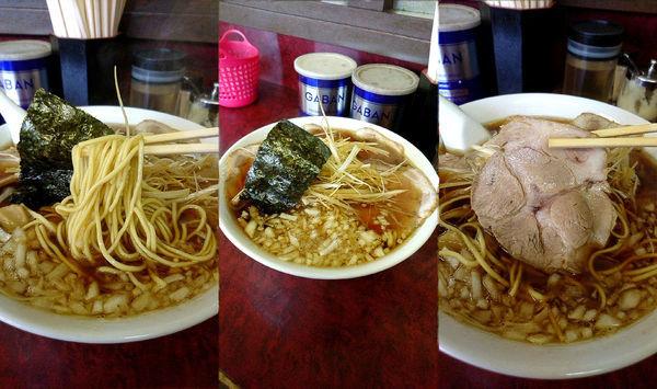 「『ネギチャーシューメン+大盛(¥800+100)』」@三番亭の写真