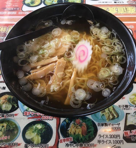 「醤油ラーメン(630¥)」@高林産直食堂の写真