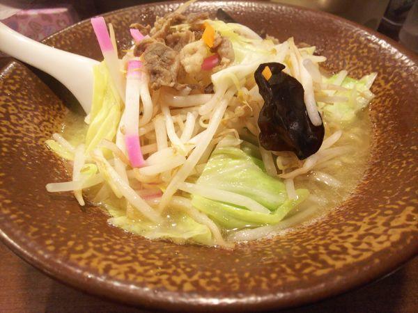 「鶏塩タンメン800円」@らーめん岩本屋 富山呉羽本郷店の写真