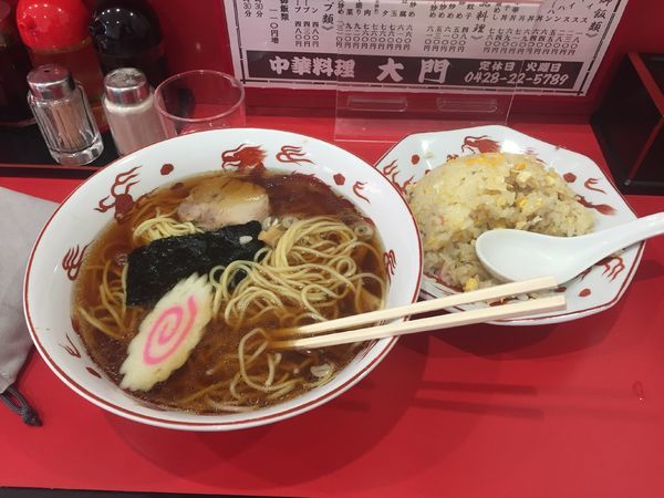 「ラーメン 480円」@大門の写真