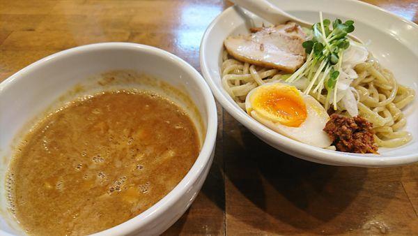 「濃厚味噌つけ麺(880円)」@ふうびの写真