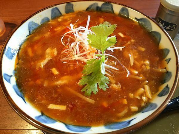 「酸辣湯麺」@三宝亭 安曇野店の写真
