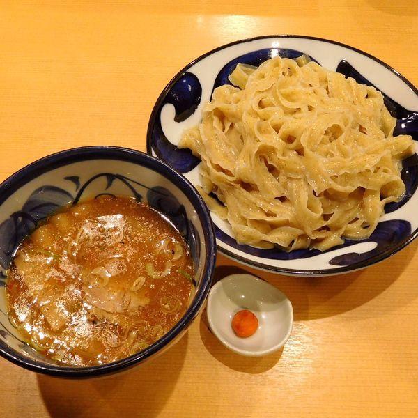 「つけめん(太ひら麺 780円)」@中華そば 青葉 府中店の写真