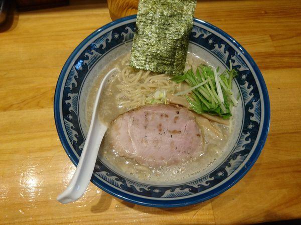 「濃厚塩ラーメン 780円」@○心厨房の写真