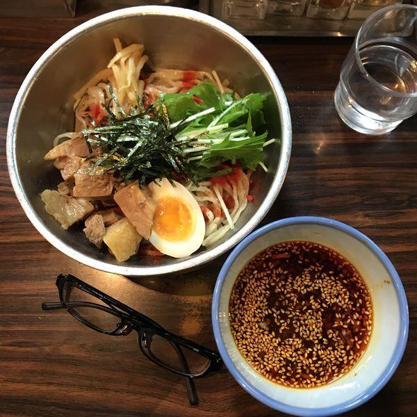 「つけ麺 並盛(150g) 辛露」@AFURI 恵比寿の写真