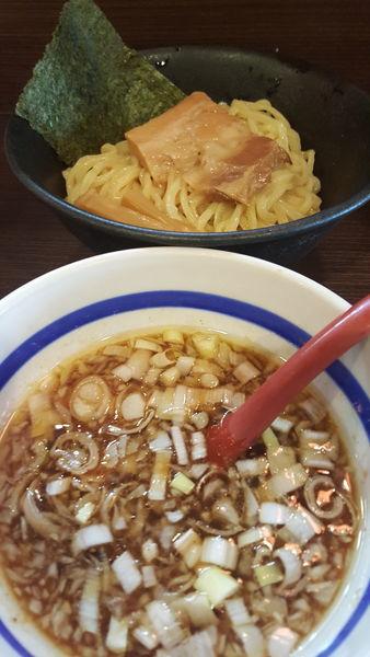 「角ふじつけ麺(ノーマル)」@山勝角ふじ 総本店の写真