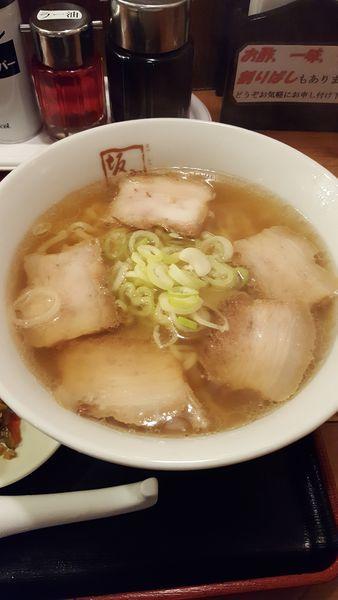 「喜多方ラーメン、味玉」@喜多方 坂内食堂 京都店の写真