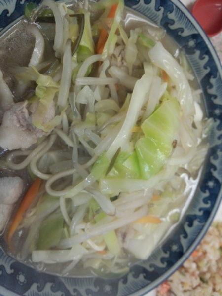 「チャンポン 600円」@中華軽食 亀の家の写真