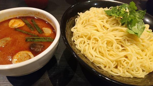 「トムヤムつけ麺(限定)」@ラーメン大至の写真