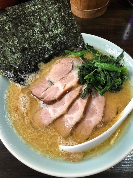 「チャーシュー麺並、固め濃いめ」@らーめん 道の写真