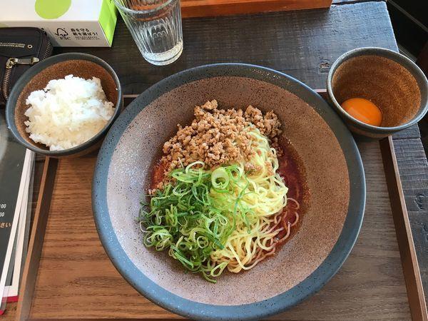 「広島汁なし担担麺シビレ辛さ2(セット)」@tomoruの写真