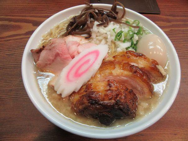 「限定 ABURAON(850円)+肉増し+味玉」@良温(Ra-on)の写真