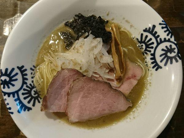 「煮干そば(塩)」@特級鶏蕎麦 龍介の写真