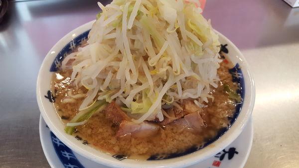 「らーめん 野菜多め ニンニクなし」@らーめん大 松戸店の写真