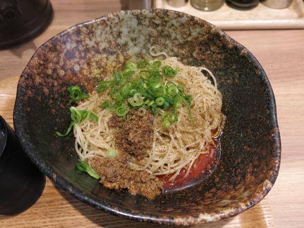 「4辛+麺大盛:580円+100円」@汁なし担担麺専門 キング軒 銀座出張所の写真