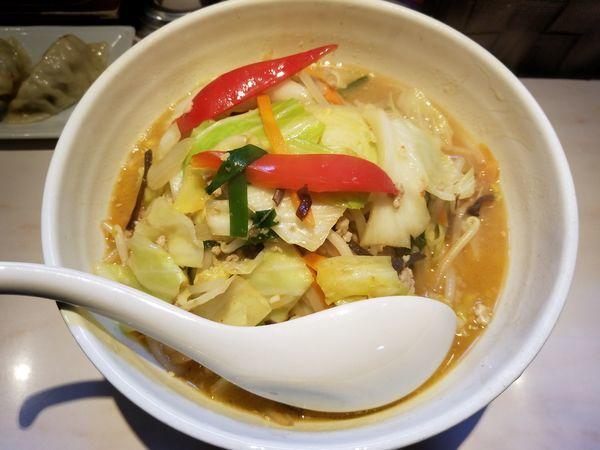 「タンメン[味噌]+野菜増し」@湯麺 大八の写真