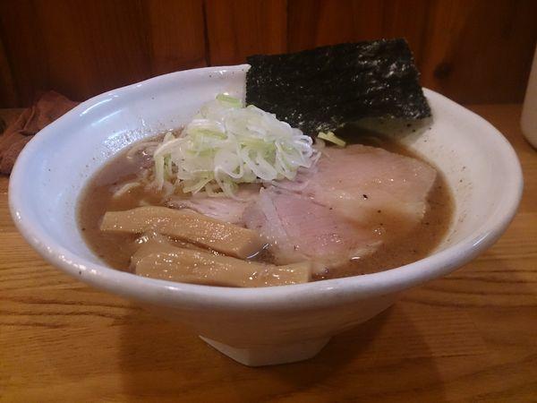 「らぁ麺(手揉み麺)」@麺道 GENTENの写真