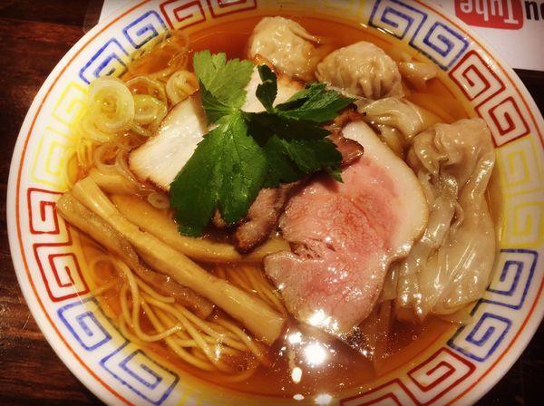 「ワンタン麺HINAI」@ラーメン246亭の写真