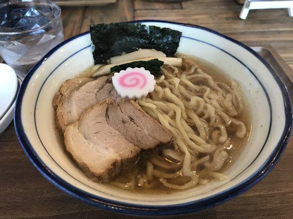 「煮干そば」@Omotenashi Noodles よこじの写真