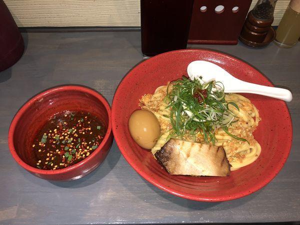 「辛味噌つけ麺」@つけ麺専門 百の輔の写真