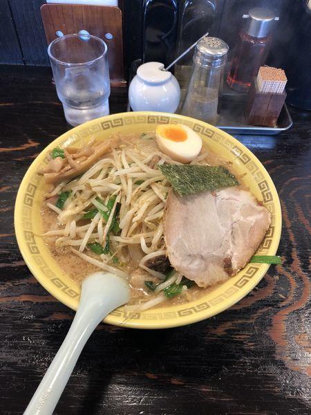 「豚骨味噌らーめん」@中華麺 江川亭 昭島店の写真
