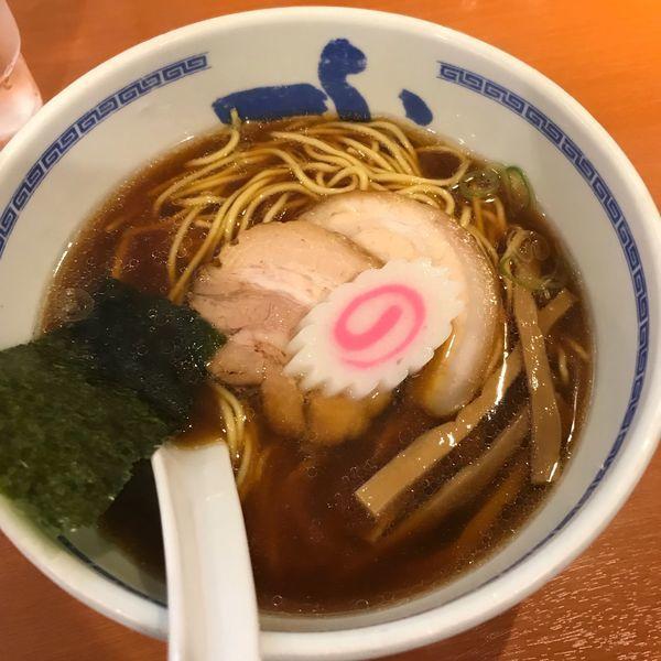 「醤油らーめん」@たけちゃんにぼしらーめん 調布店の写真