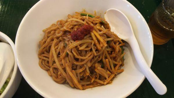 「麻辣麺(汁なし担々麺)」@百香亭 つくば本店の写真