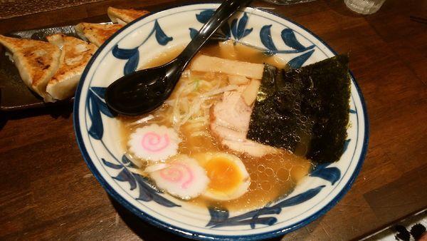 「醤油ラーメン¥630-+餃子」@コイキヤホンポの写真