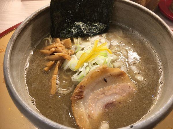 「濃厚煮干しそば(塩)」@麺屋 音 柏店の写真
