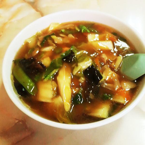 「広東麺(740円)」@揚菜軒の写真