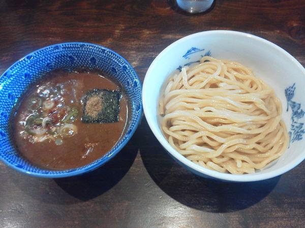 「濃厚魚介豚骨つけめん並 750円」@つけ麺 ジンベエの写真