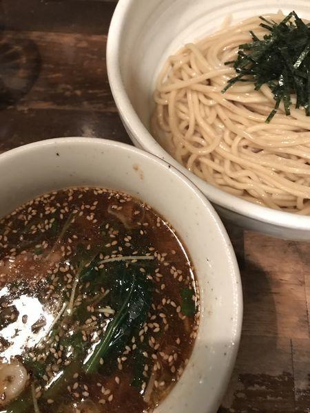 「支那つけそば」@日本橋 製麺庵 なな蓮の写真