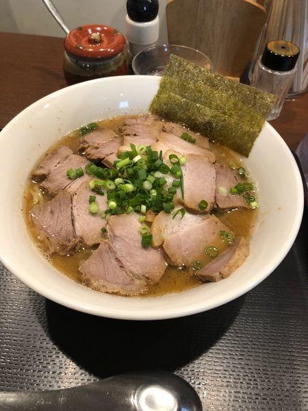 「チャーシュー麺」@中華そば おかべの写真