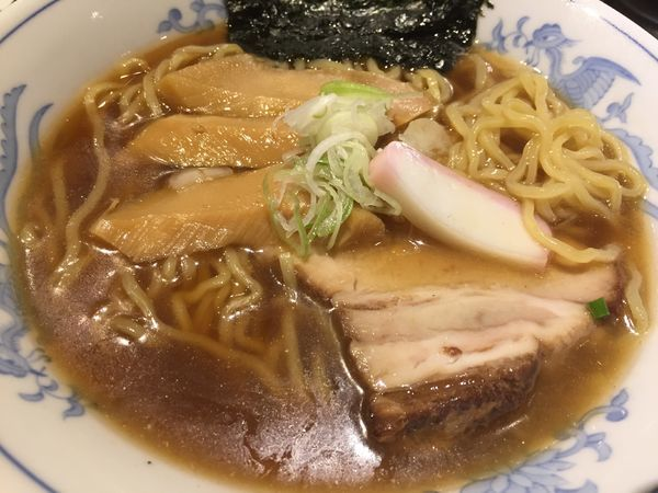 「濃い煮干醤油拉麺(750円)」@拉麺5510の写真