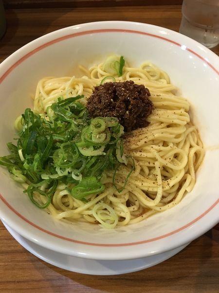 「汁なし坦々麺」@麺屋 楼蘭 梅田店の写真