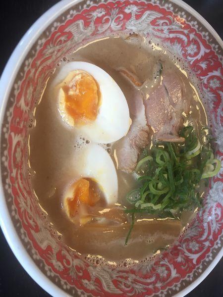 「煮干しラーメン@680+ランチセットチャーハン@100」@中華料理 都飯店 枚方田口店の写真